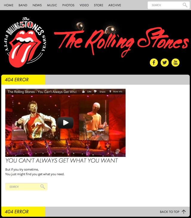 Rolling Stones 404