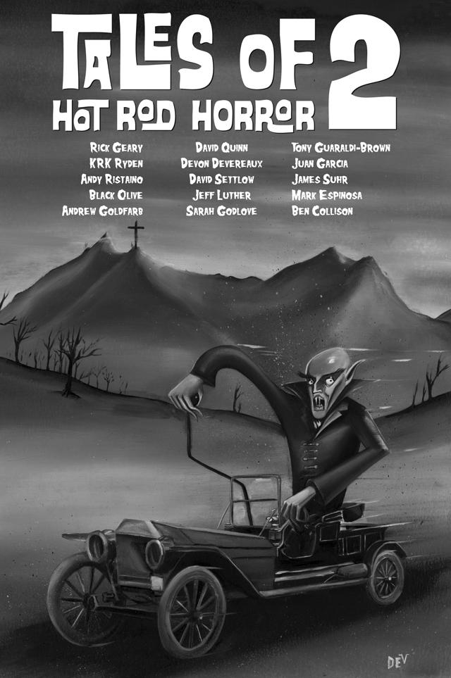 Tales of Hot Rod Horror Volume 2 by Devon Devereaux