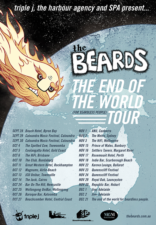 The 2012 End of The World (for beardless people) Tour