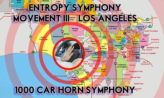1000 Car Horn Symphony by Zefrey Throwell