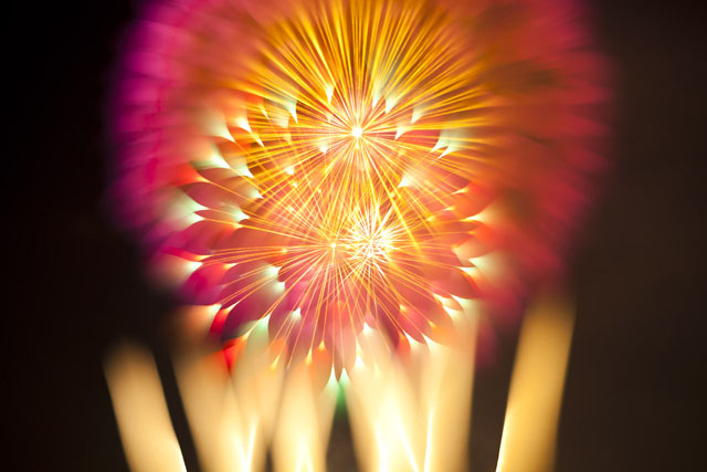 Fireworks photos by David Johnson