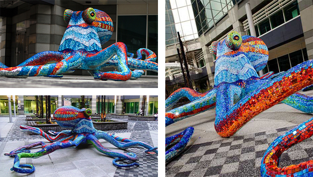 Octopus by MariaLuisa Tadei