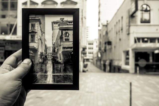 Street photographer creates guerrilla street gallery