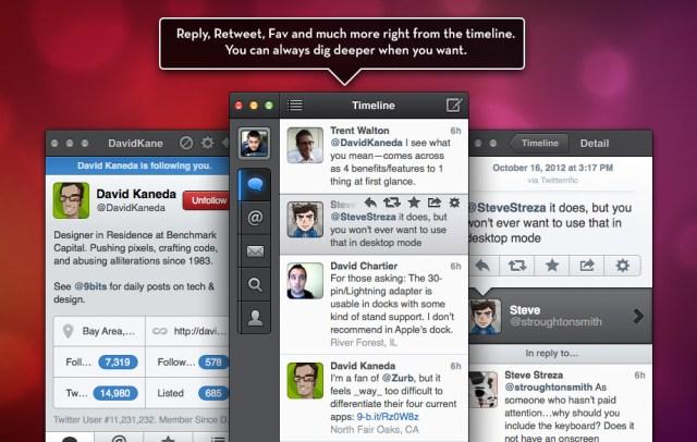 Tweetbox Twitter app for Mac