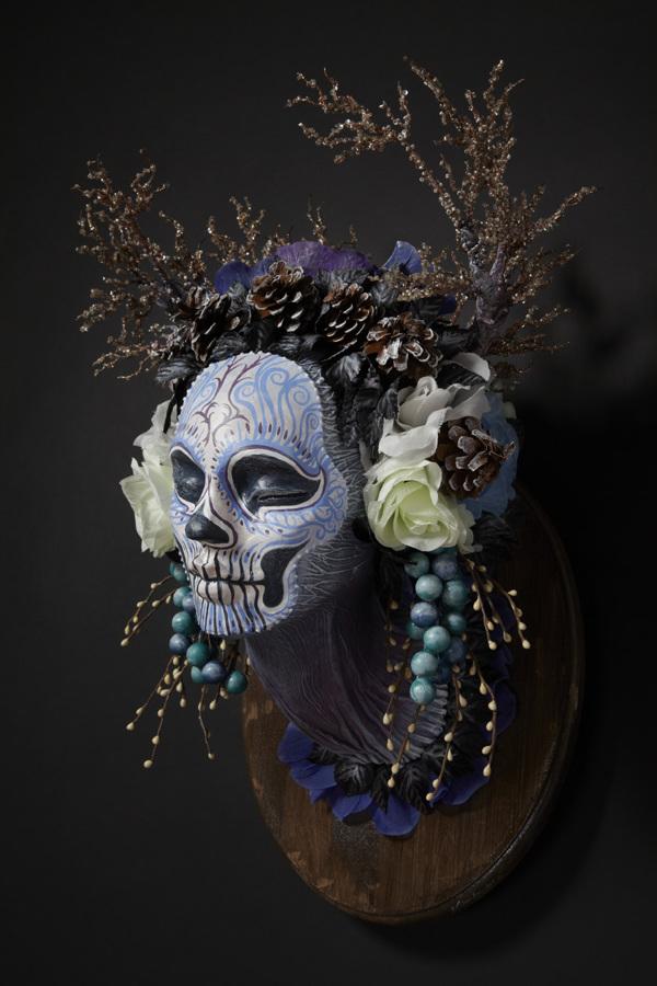 Muertitas four seasons masks by Krisztianna