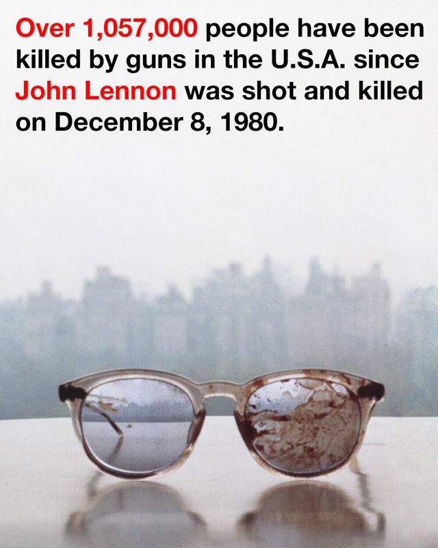 John Lennon's eyeglasses
