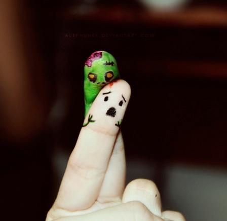zombie-finger