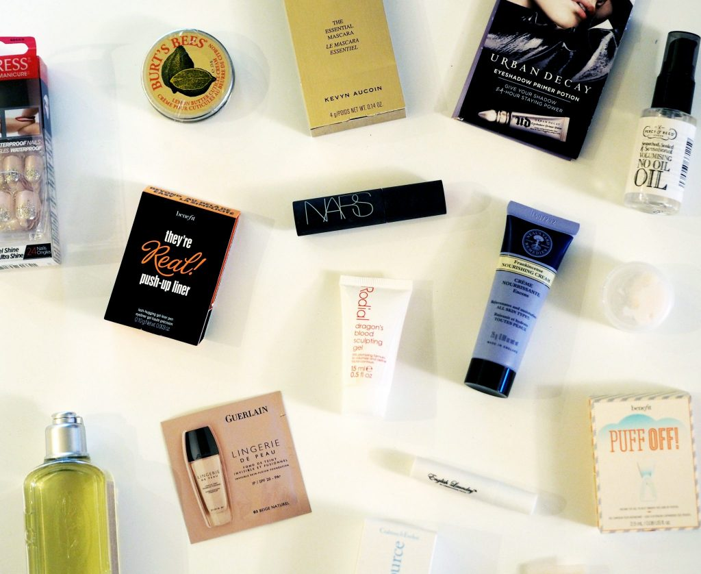 Manchester beauty blogger - free samples
