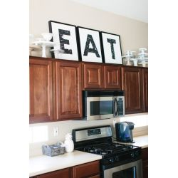 Small Crop Of Kitchen Decor Above Cabinets