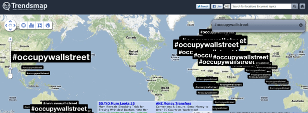 #occupywallstreet USA not show hashtag