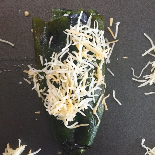 'NAKED' CHILE RELLENOS WITH CHEESE CRISPS