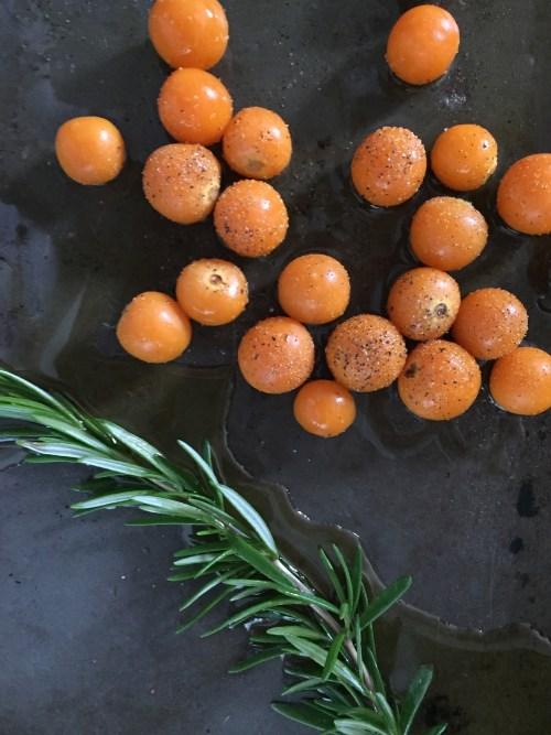 NEW WAYS to 'TOAST' Roasted Gooseberry, Ricotta, and Fried Rosemary // laurenariza.com // RECIPE SCHMECIPE