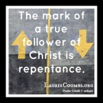 {Lessons Learned} Repentance Can Be a Process