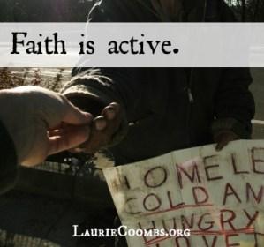 Faith is Active