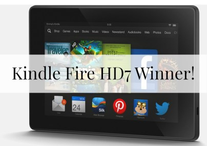 kindle Fire Winner