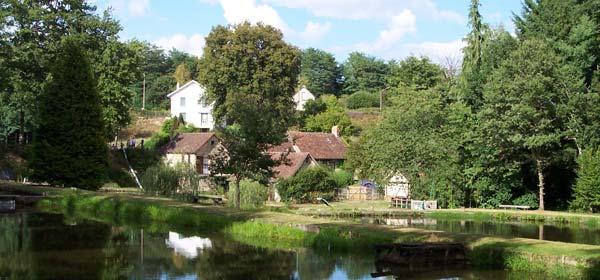 Pêcherie du Moulin Authier à Coussac-Bonneval