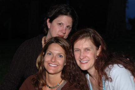 MB, Tamara and me