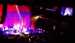 Bruno Mars concert