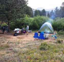 camping in Colorado