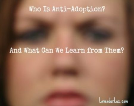 Regarding Anti-Adoptionists & Teenagers