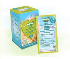 Avoine onctueuse, céréales pour bébé biologiques, portion individuelle | lavietoutsimplement.com