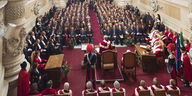 Inaugurazione dell'anno giudiziario in Cassazione