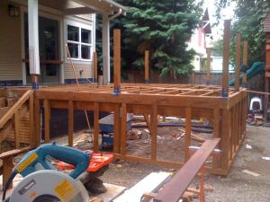 Hollen deck framing