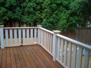 Hollen deck, NE corner