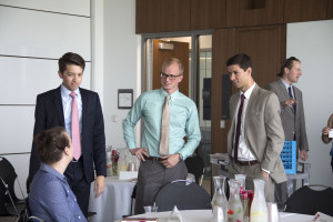 Law students from the University of Utah S.J. Quinney College of Law will have access to more mentoring opportunities from practicing attorneys as a result of the college's 100/100 initiative. Photo by Sarah May.
