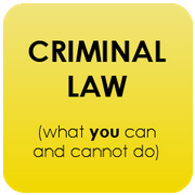 Criminal Law: what YOU can and cannot do