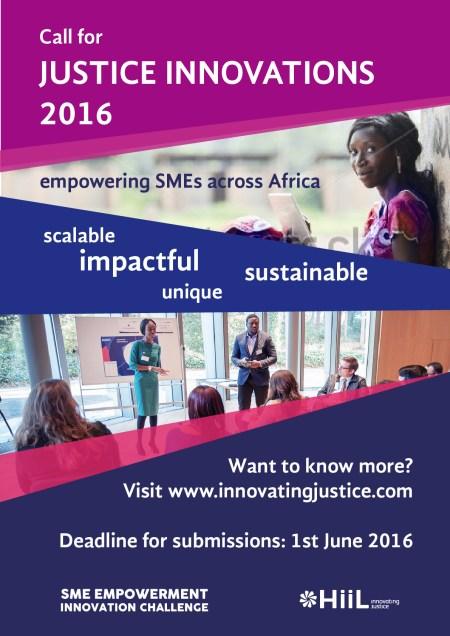 Innovating Justice 2016