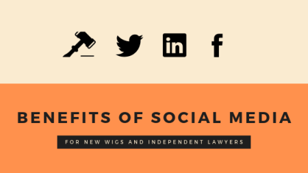 BENEFITS OF SOCIAL MEDIA FOR LAWYERS