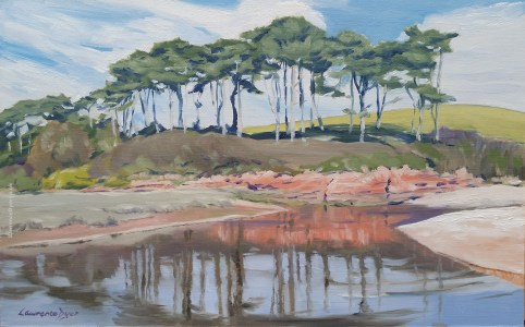 Ottermouth, Budleigh Salterton by Lawrence Dyer