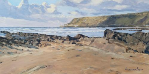 Widemouth Bay Spring Day by Lawrence Dyer