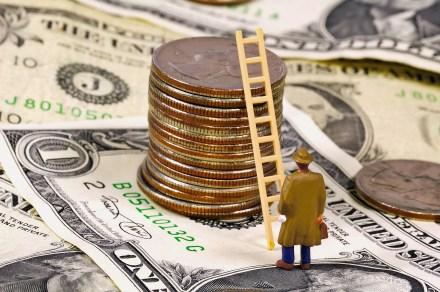 bigstockphoto_Climbing_The_Ladder_Of_Success_151670