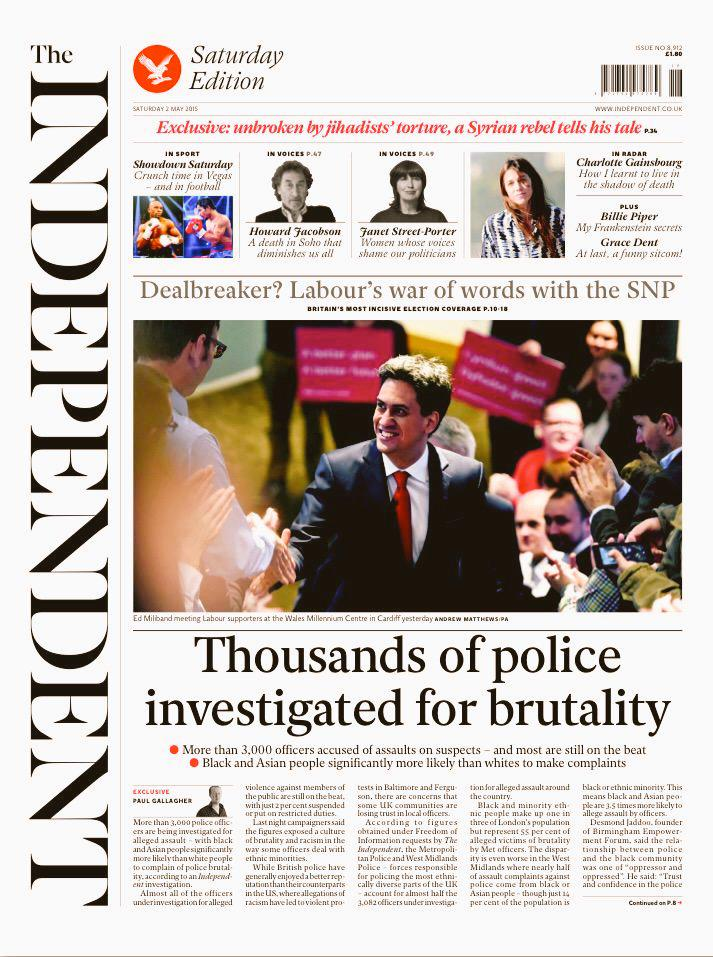 Our comment in The Independent on Metropolitan & West Midlands Police racialised brutality