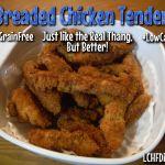 Breaded Chicken Tenders! #LowCarb #GrainFree