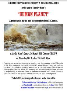 Timothy Allen's 'Human Planet'