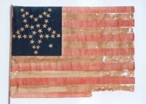 An Early U.S. Flag