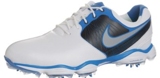 chaussures golf nike bleues