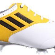Chaussures de golf Adidas Adizero Tour blanc et jaune
