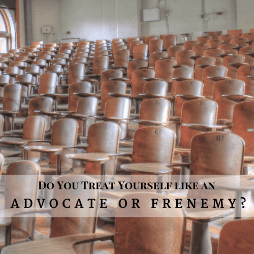 Advocate not Frenemy