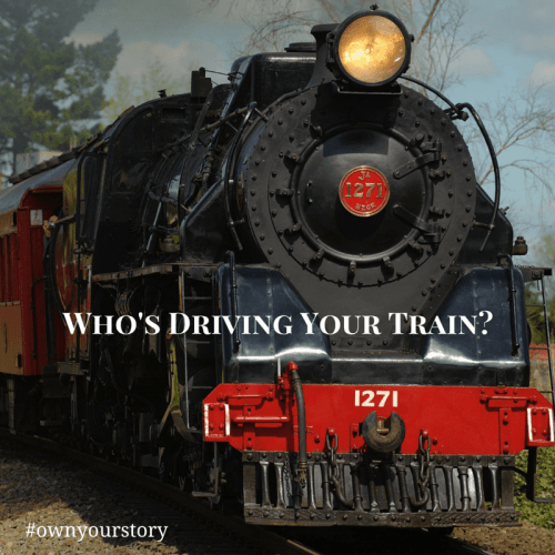 Who's driving your train?