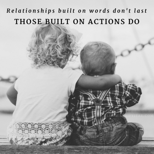 The strongest relationships aren't built on words.