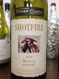 Shotfire Ridge Shiraz 2010