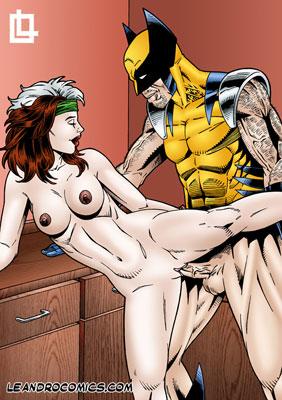 wolverine having sex