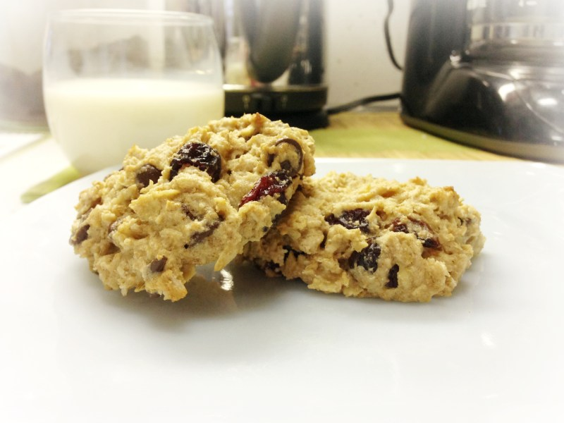 Recipe: Oatmeal Cranberry Chocolate Chip Cookies