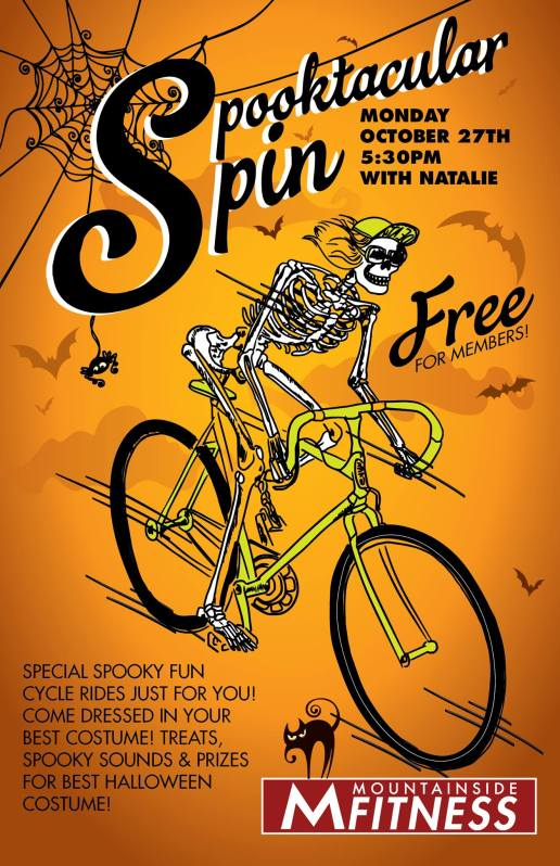 Halloween Ride Flyer