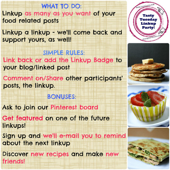 TT linkup party flyer