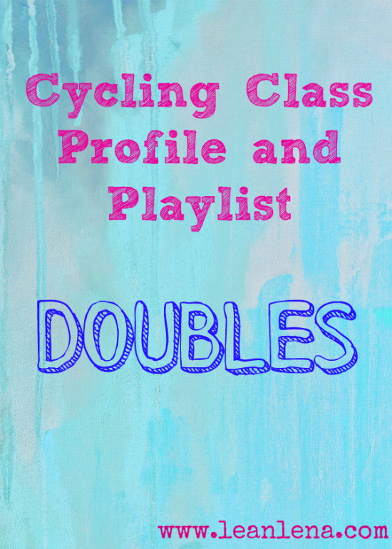 Playlist & Class Profile for Indoor Cycling: Doubles